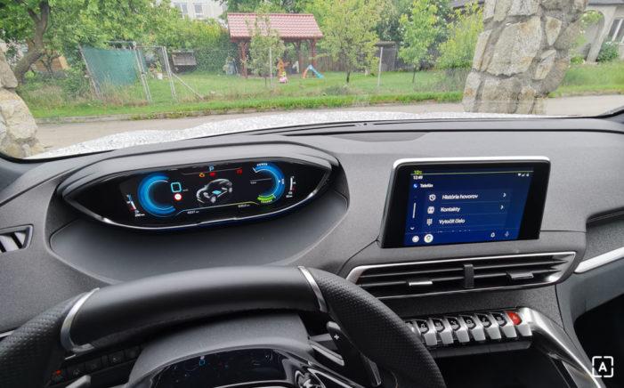 Android Auto Peugeot 3008 Hybrid4