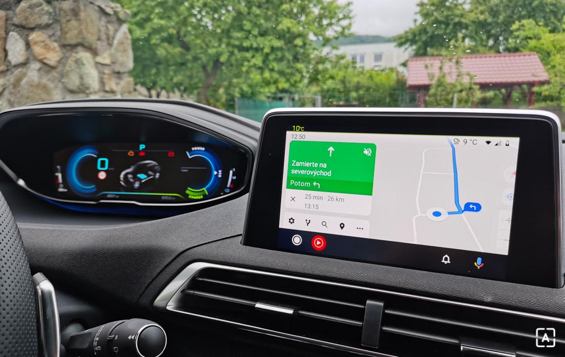 Peugeot 3008 Hybrid 4 Android Auto