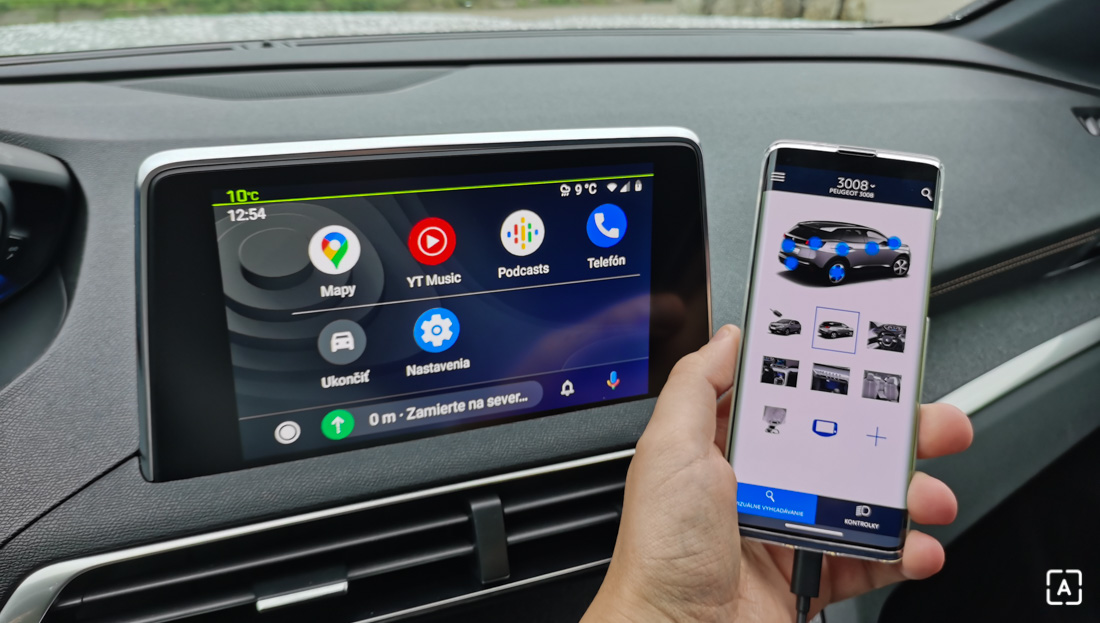 Peugeot 3008 Hybrid 4 Android Auto