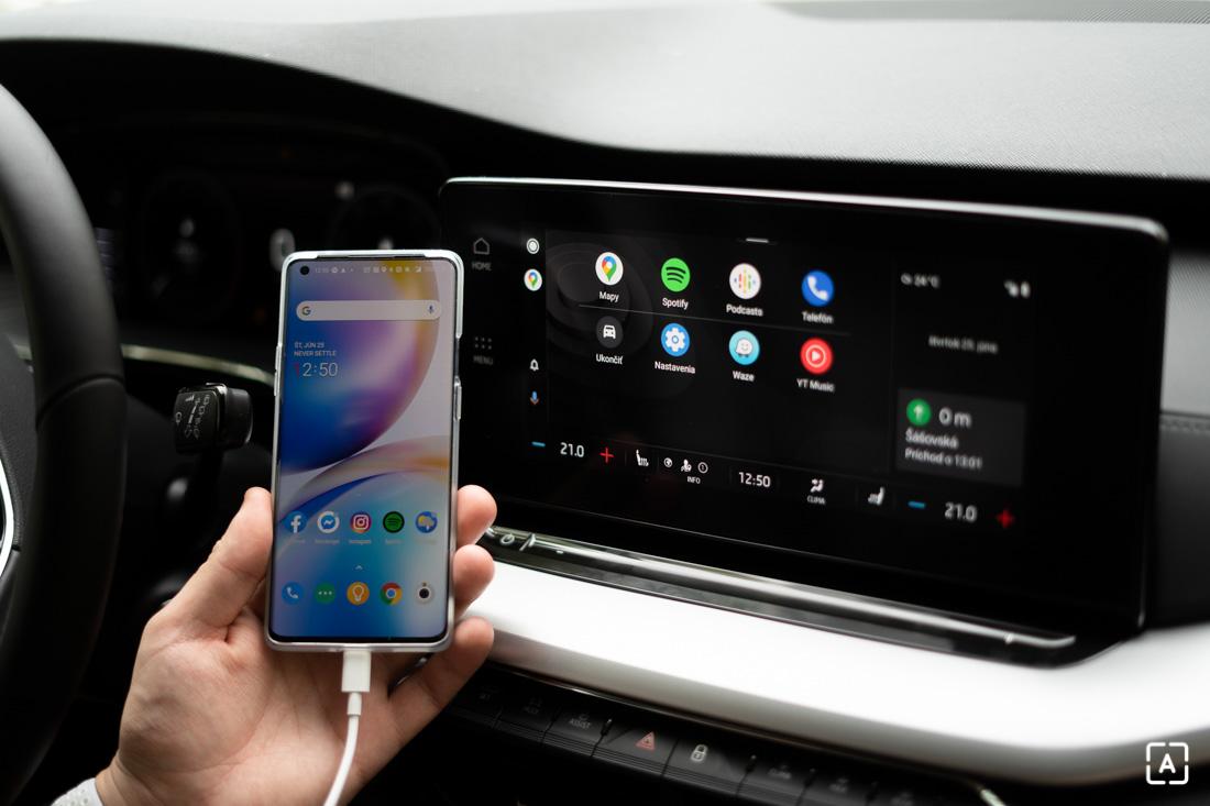 Skoda Octavia Android Auto