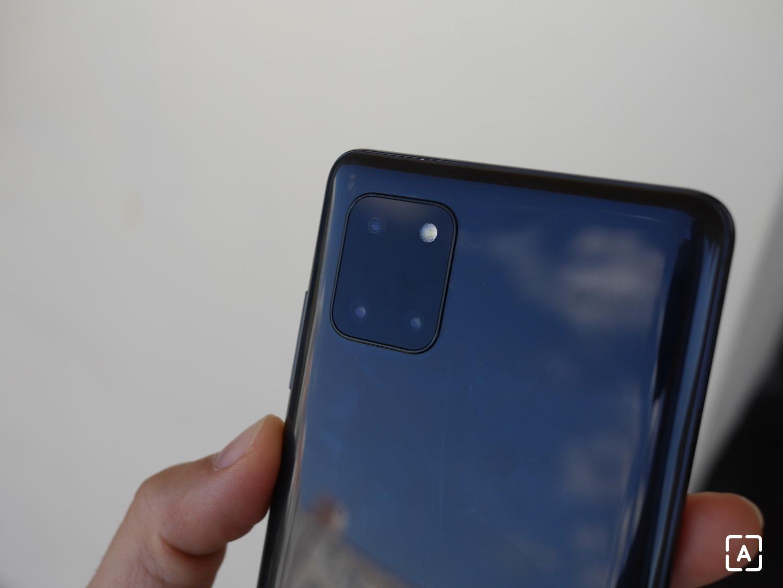 Samsung Galaxy Note 10 Lite fotoaparát