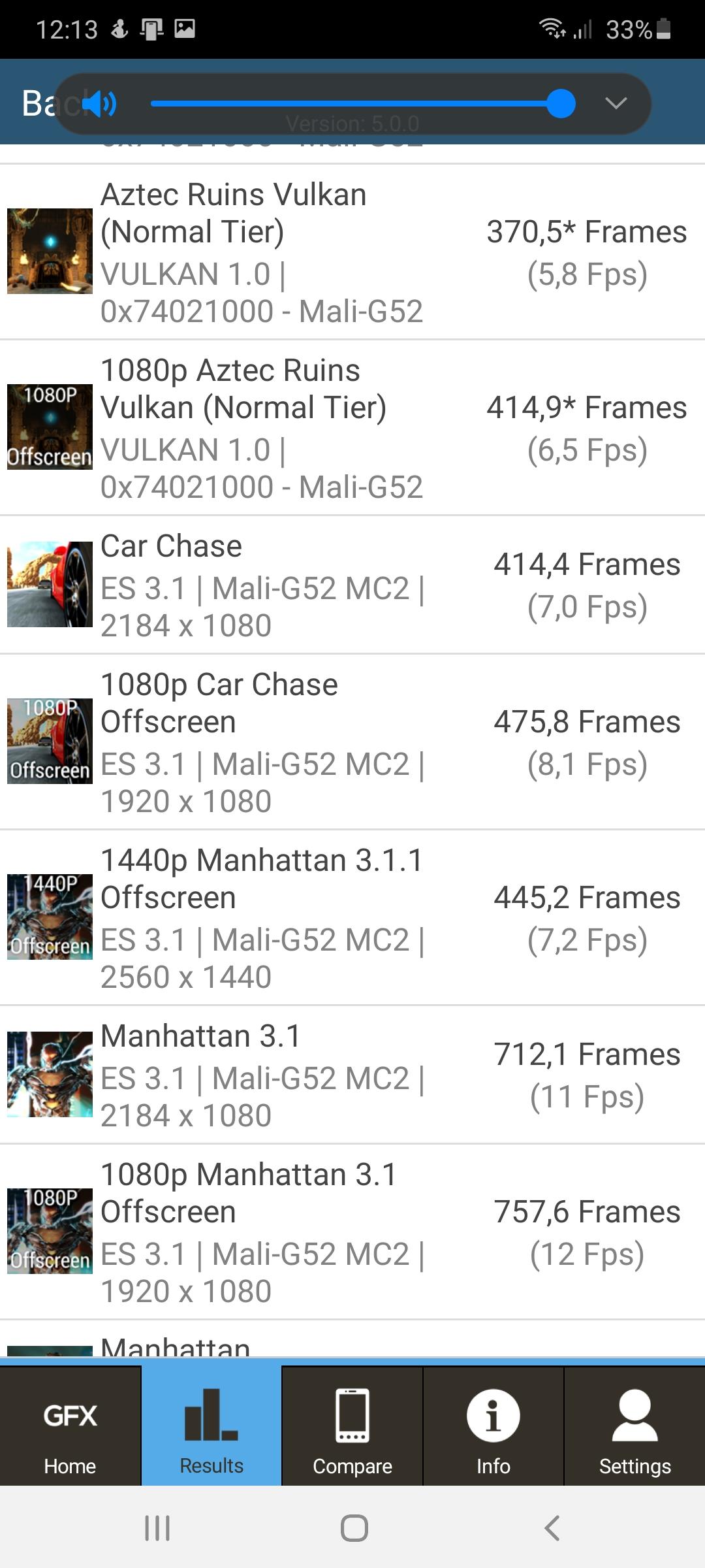 GFXBench Samsung Galaxy A41 2