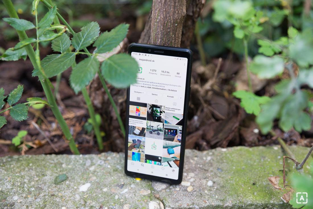 Sony Xperia 10 II instagram