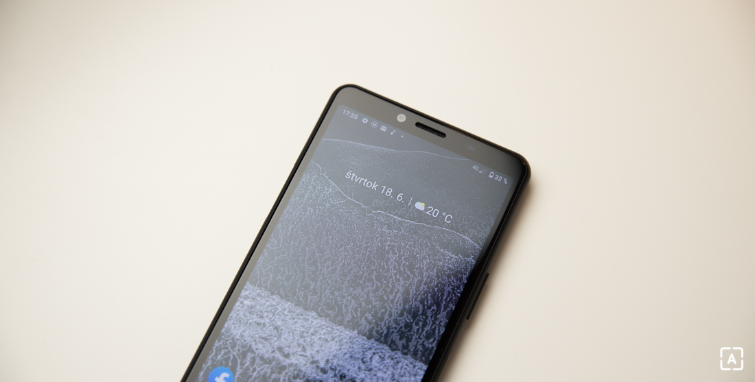 Sony Xperia 10 II domovska obrazovka