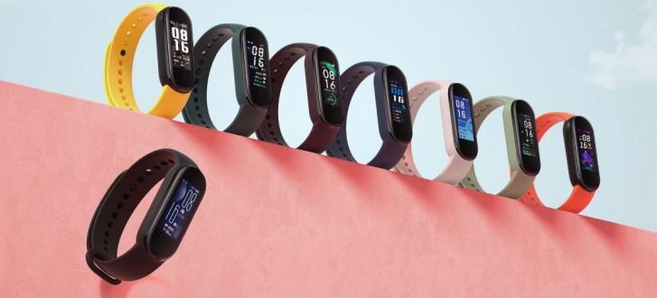 Xiaomi Mi Band 5 farby