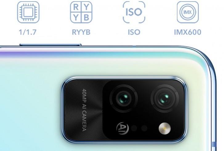 Honor Play 4 Pro fotoaparát