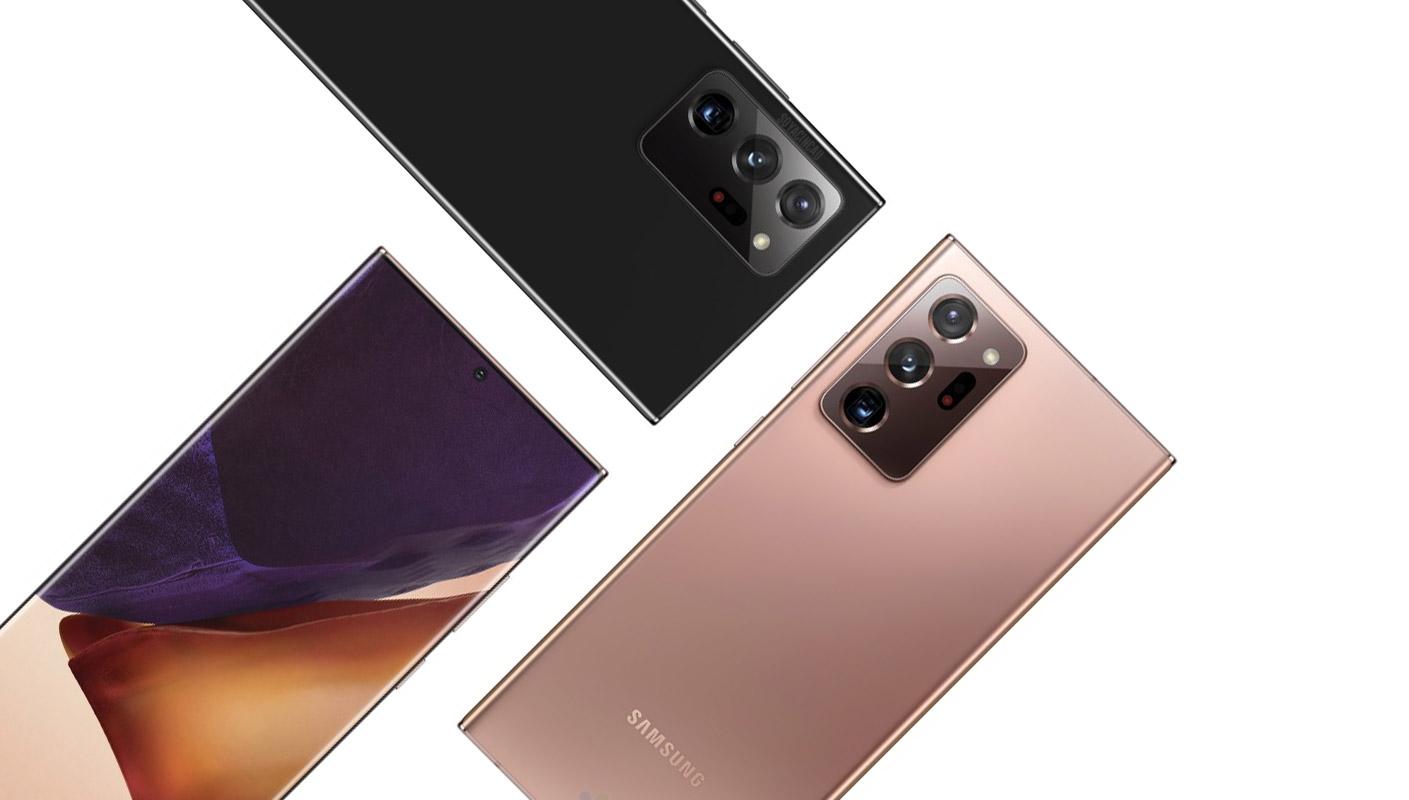 Samsung Galaxy Note 20 Ultra farby