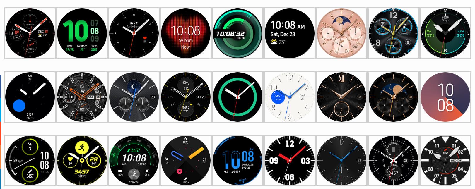 Samsung Galaxy Watch 3 vzhľady