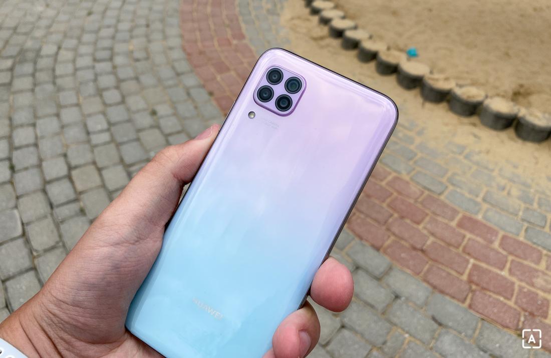 Huawei P40 Lite zadná strana