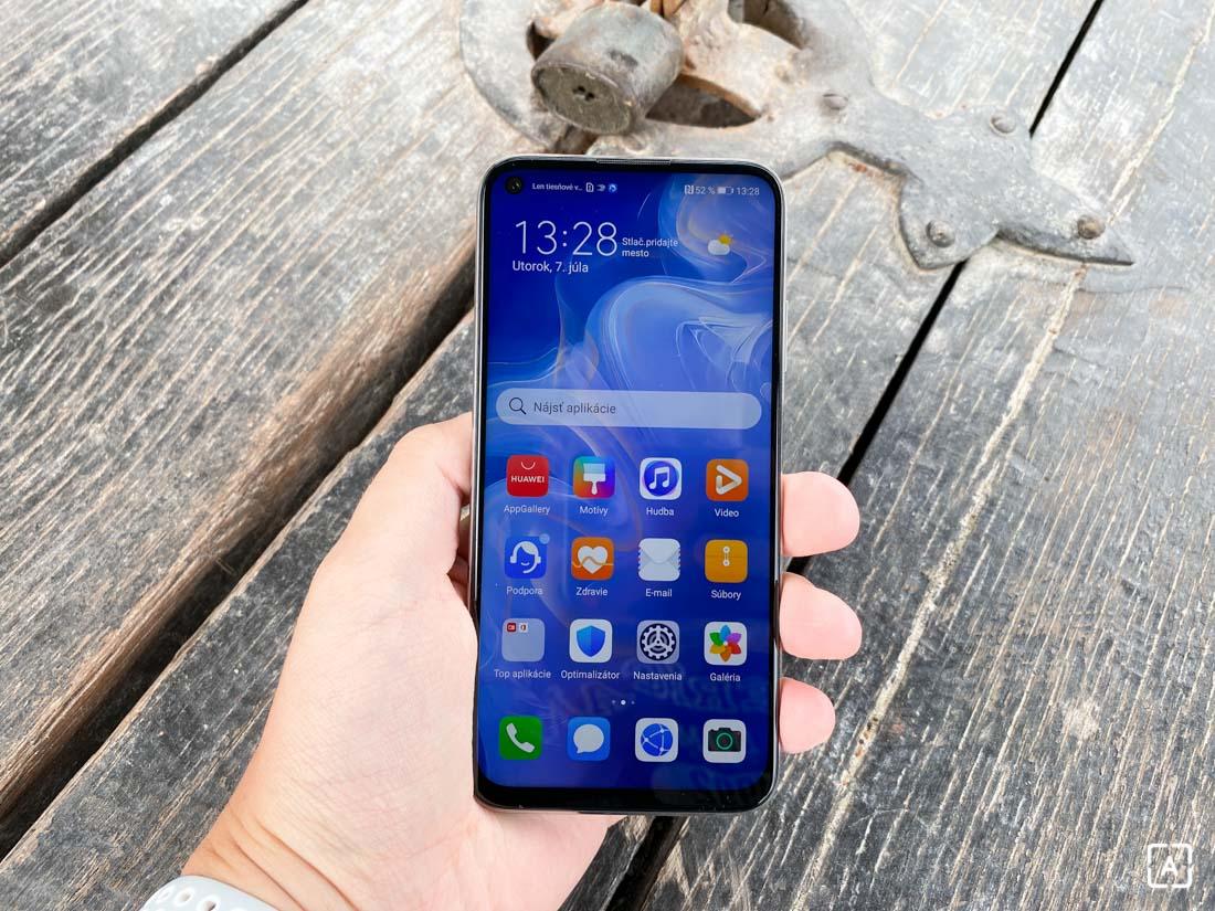 Huawei P40 Lite predná strana