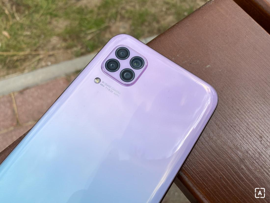 Huawei P40 Lite kamery