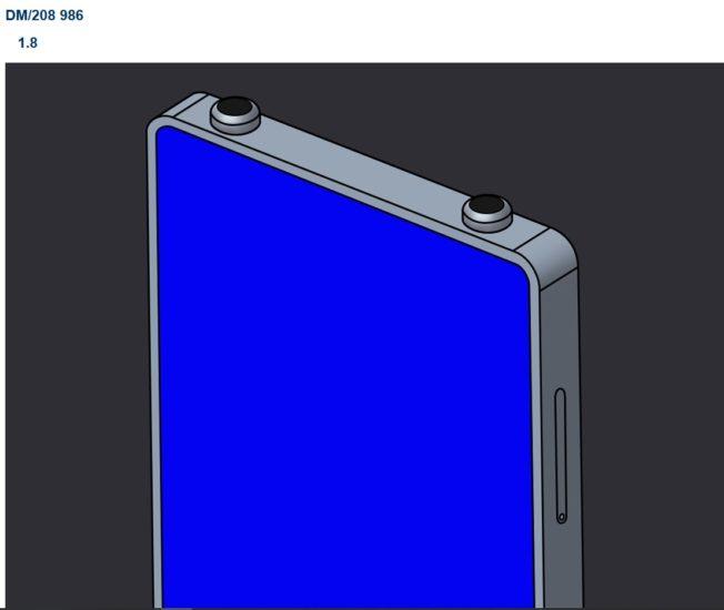 Patent Xiaomi smartfónu so zabudovanými slúchadlami.