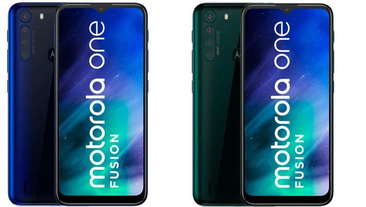 Motorola One Fusion farby