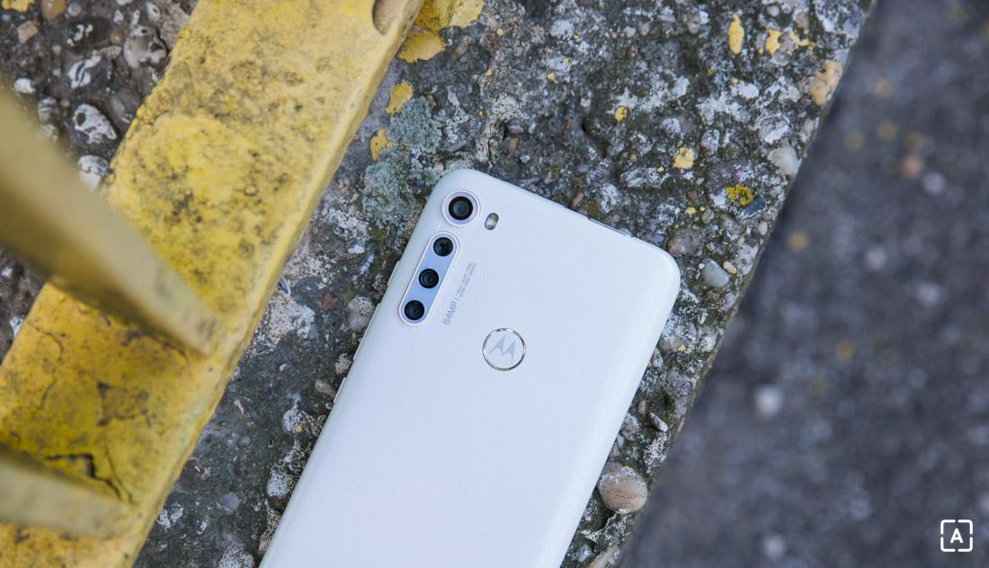 Motorola one fusion+ zadna strana