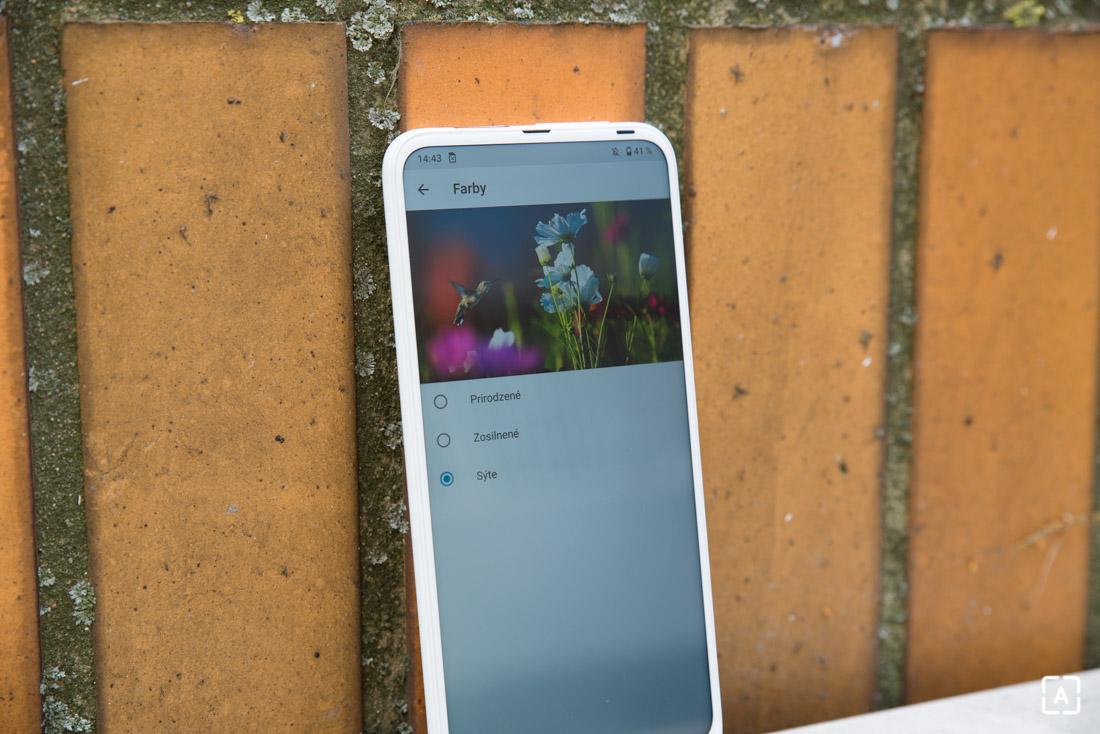 Motorola one fusion+ nastavenia displeja