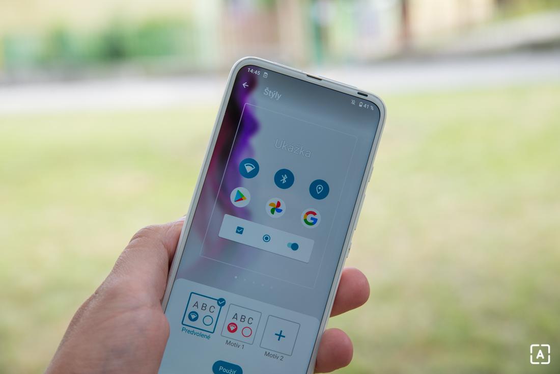 Motorola one fusion+ temy
