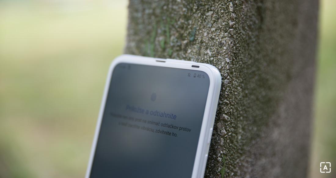 Motorola one fusion+ detail displej