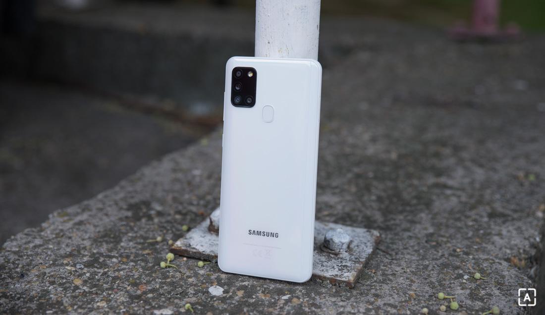 Samsung Galaxy A21s fotoaparat
