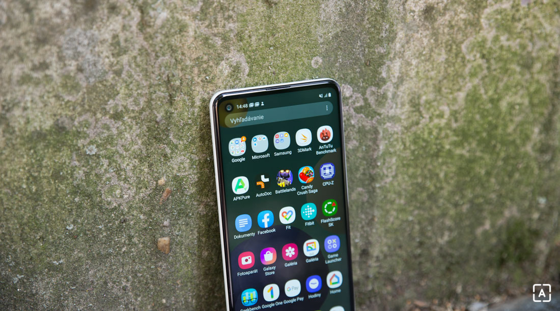 Samsung Galaxy A21s menu aplikacii