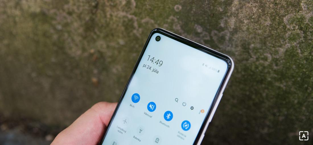 Samsung Galaxy A21s displej