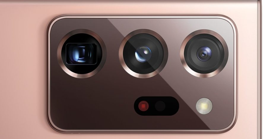 Samsung Galaxy Note 20 Ultra fotoaparát