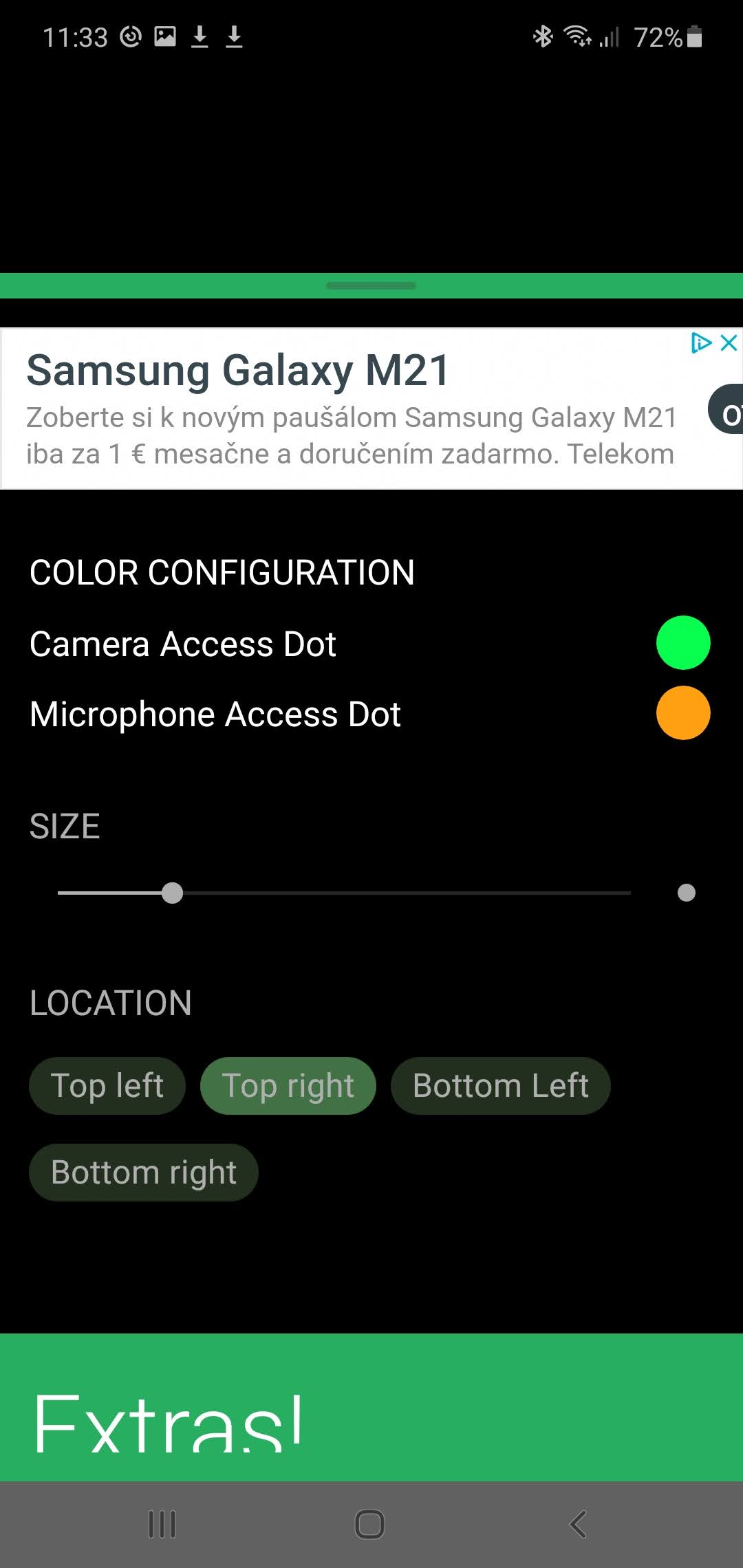 Access Dots screenshot