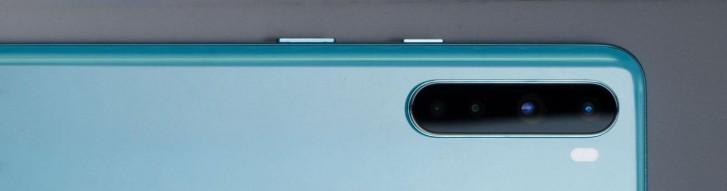 OnePlus Nord fotoaparát