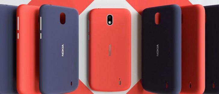 Nokia 1 farby