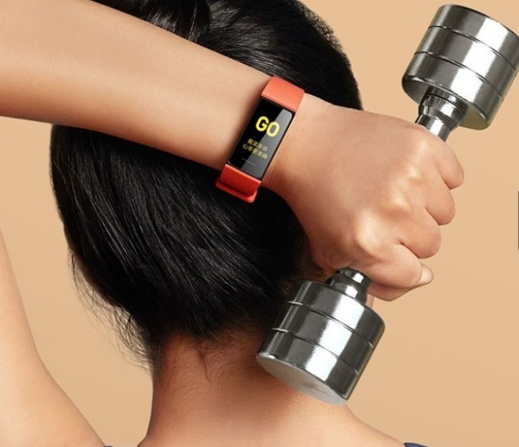 Xiaomi Mi Band 4C cvičenie