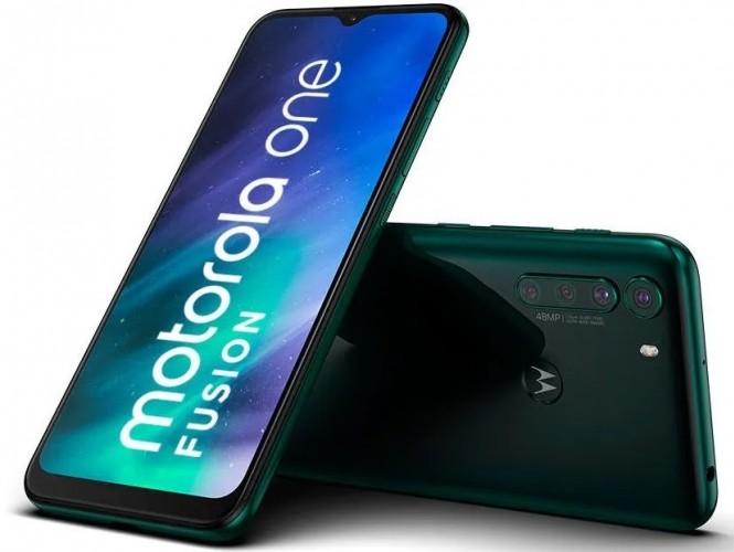 Motorola One Fusion zelená