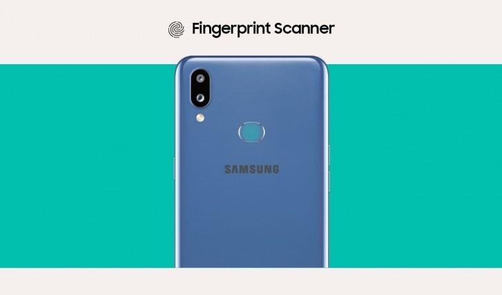 Samsung Galaxy M01s fotoaparát
