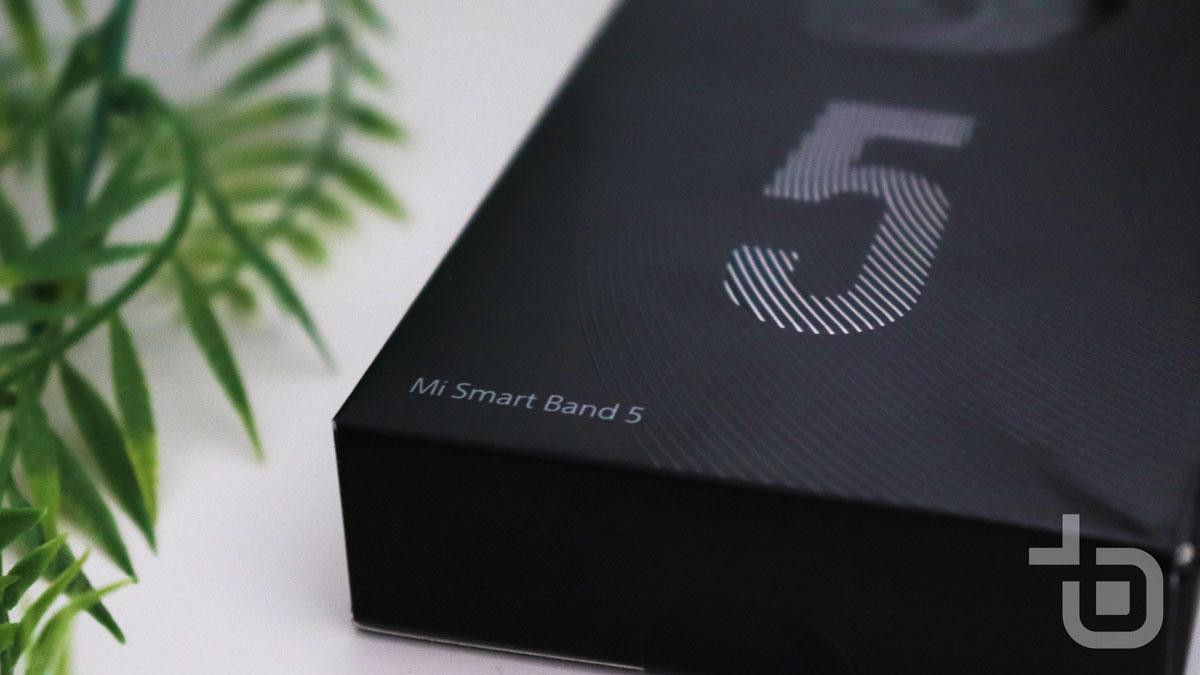 Xiaomi Mi Smart Band 5 krabica