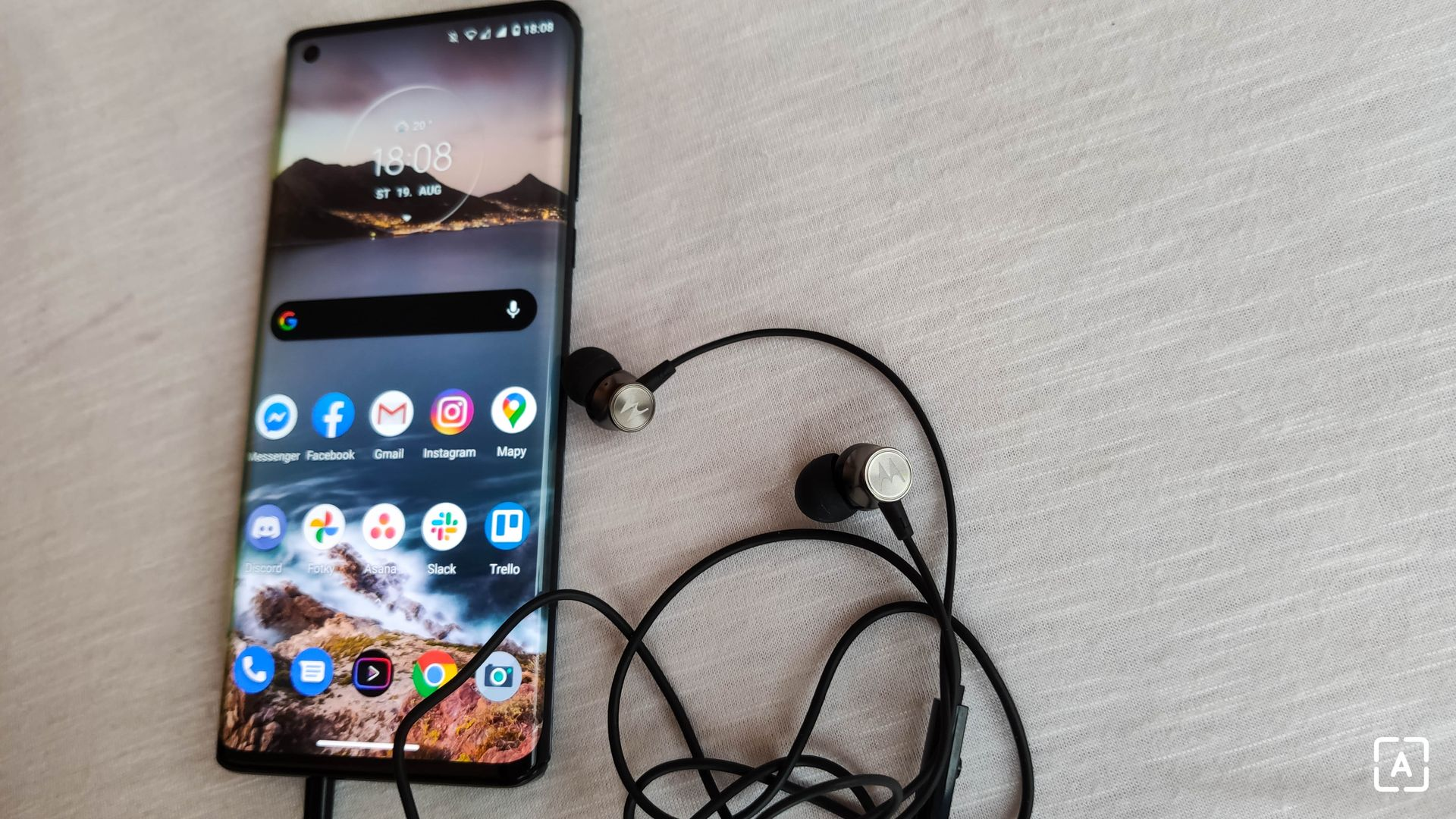 Motorola Edge slúchadlá