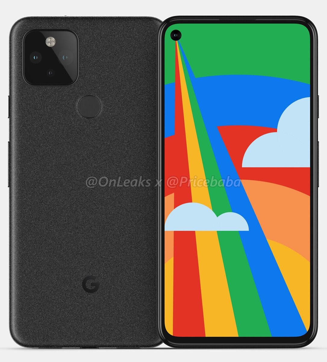 Google Pixel 5 telo