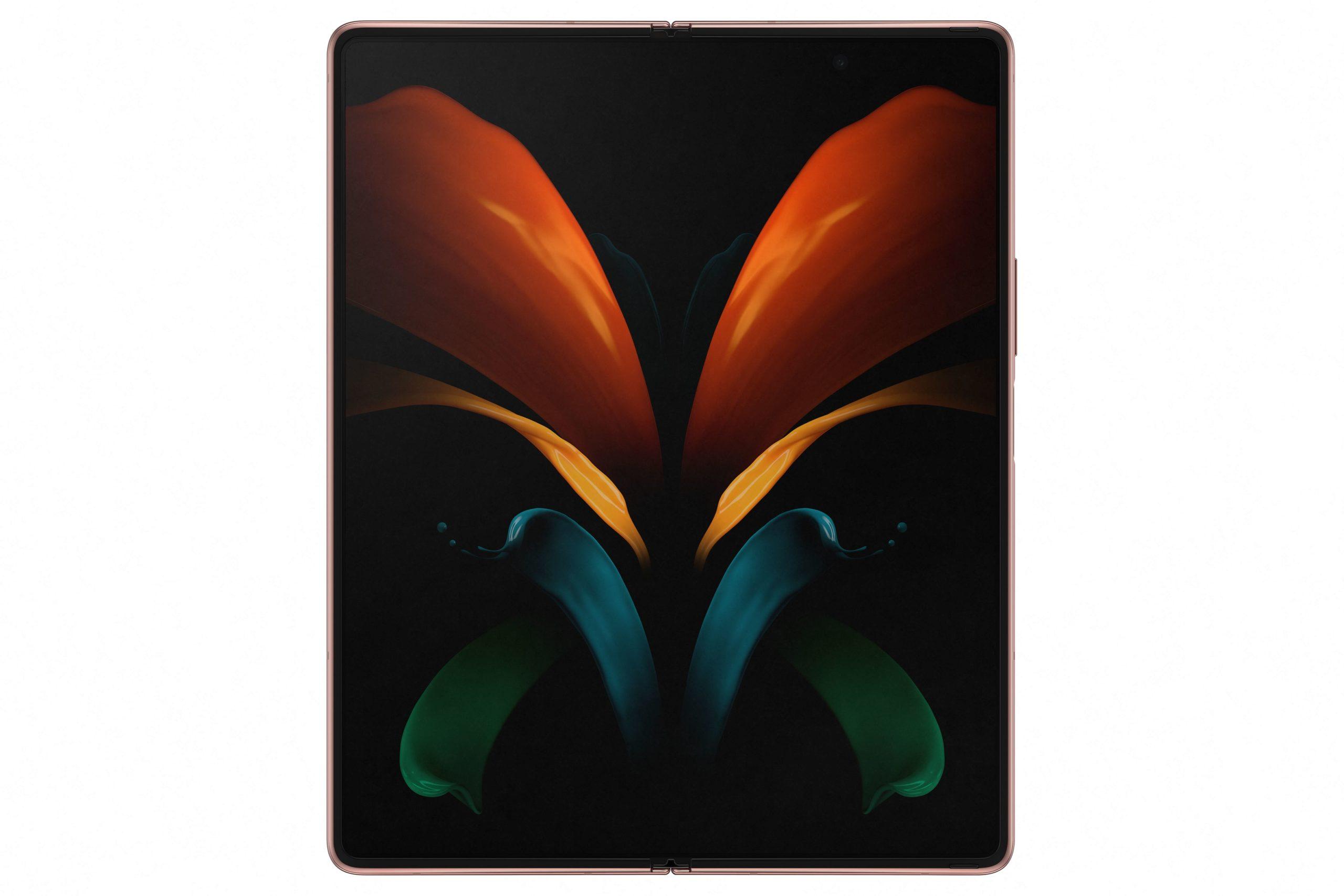 Samsung Galaxy Z Fold 2 displej