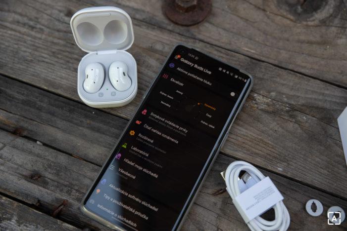 Samsung Galaxy Buds Live aplikacia