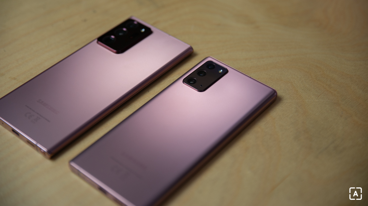 Samsung Galaxy Note 20 Ultra a Galaxy Note 20
