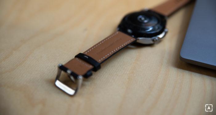 Samsung Galaxy Watch3 zadná strana
