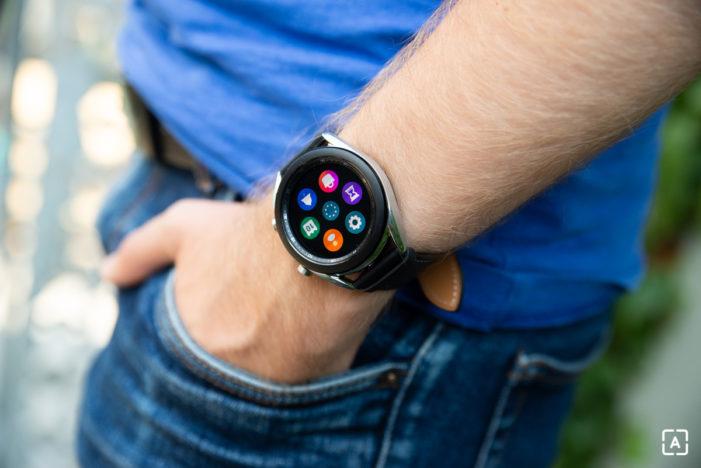 Samsung Galaxy Watch3 displej