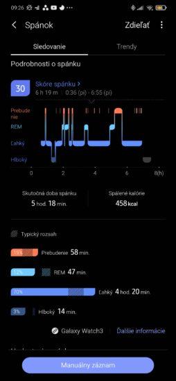 Takto vám hodinky merajú spánok.