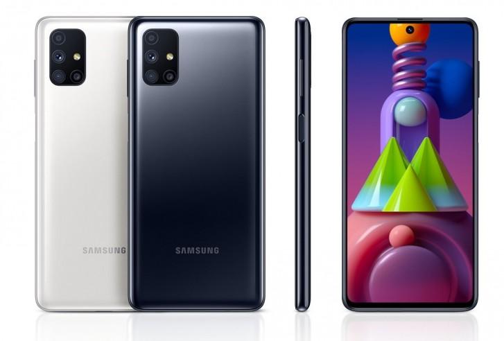 Samsung Galaxy M51 farby