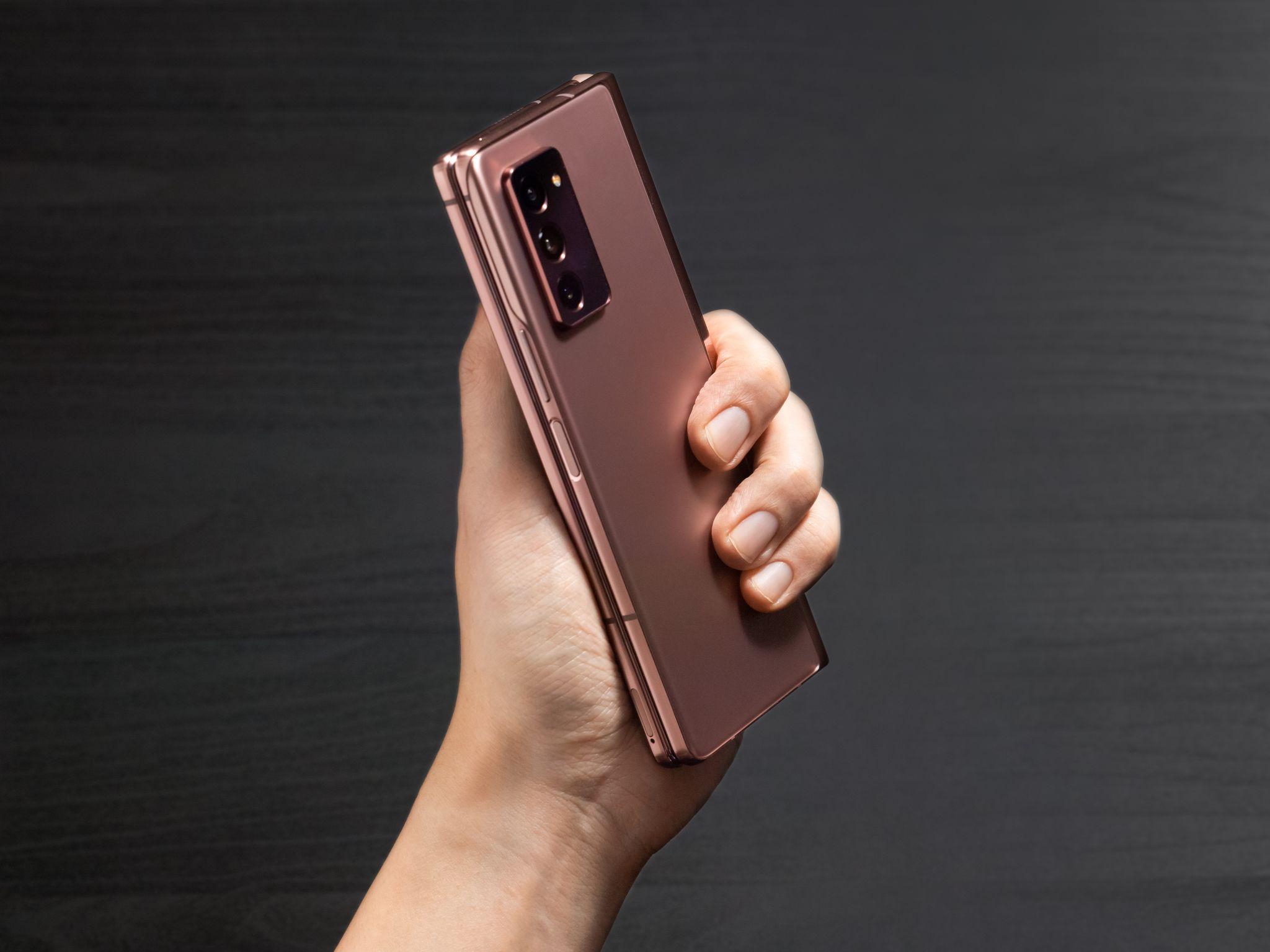 Samsung Galaxy Z Fold 2 fotoaparát