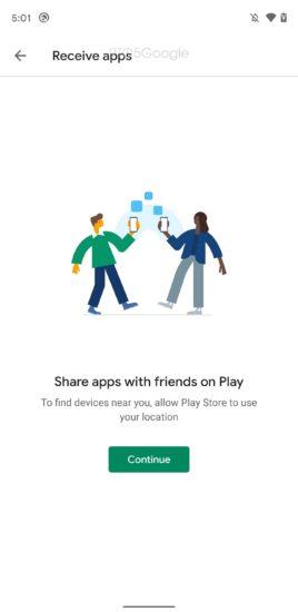 Posielanie aplikácii