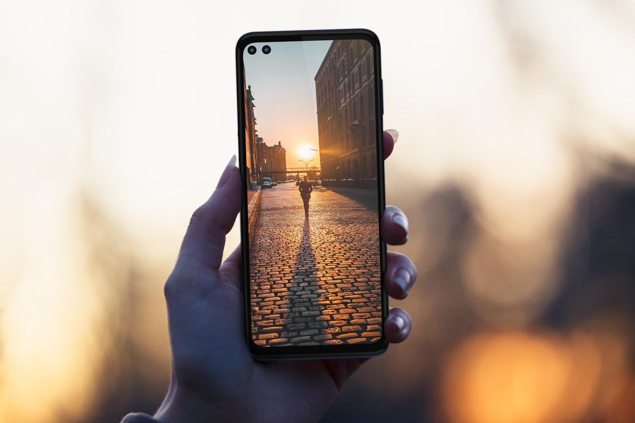 Motorola One 5G displej