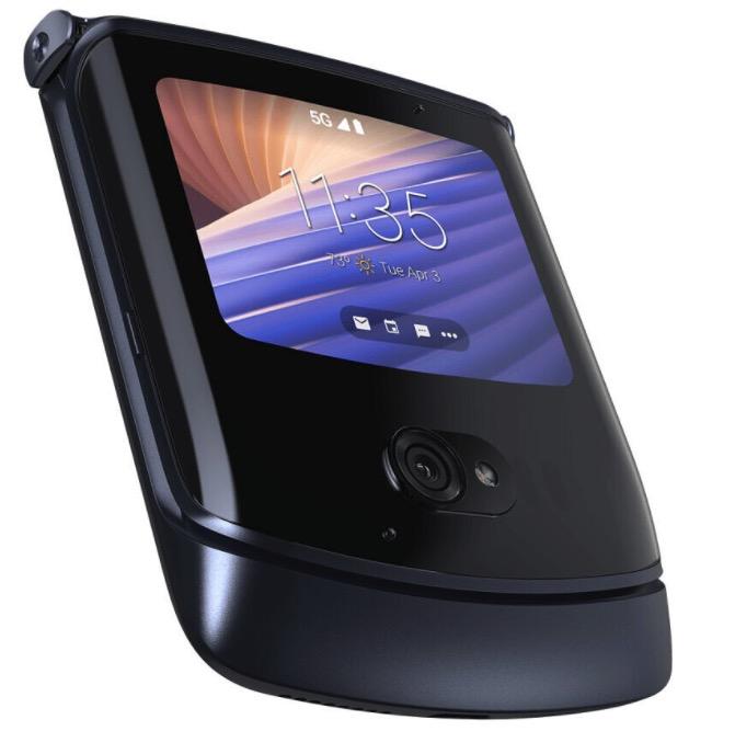 Motorola razr snimac odtlackov prstov
