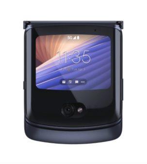 Motorola razr 5G vonkajsi displej