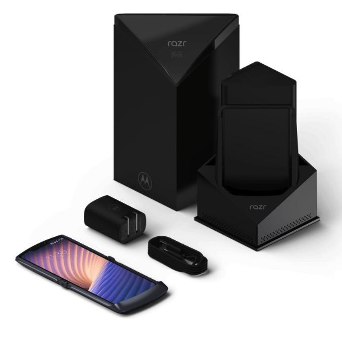 Motorola razr 5G balenie