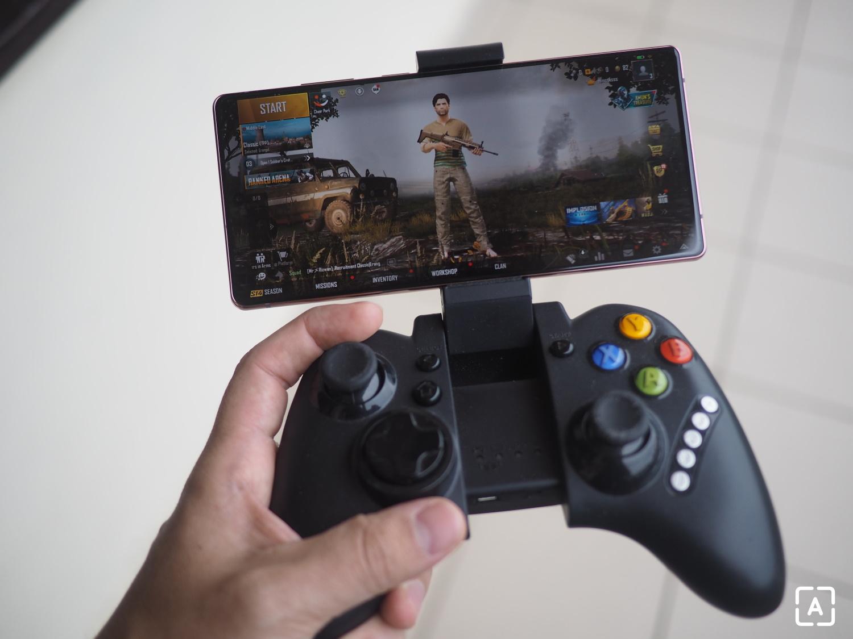 Samsung Galaxy Note 20 gamepad