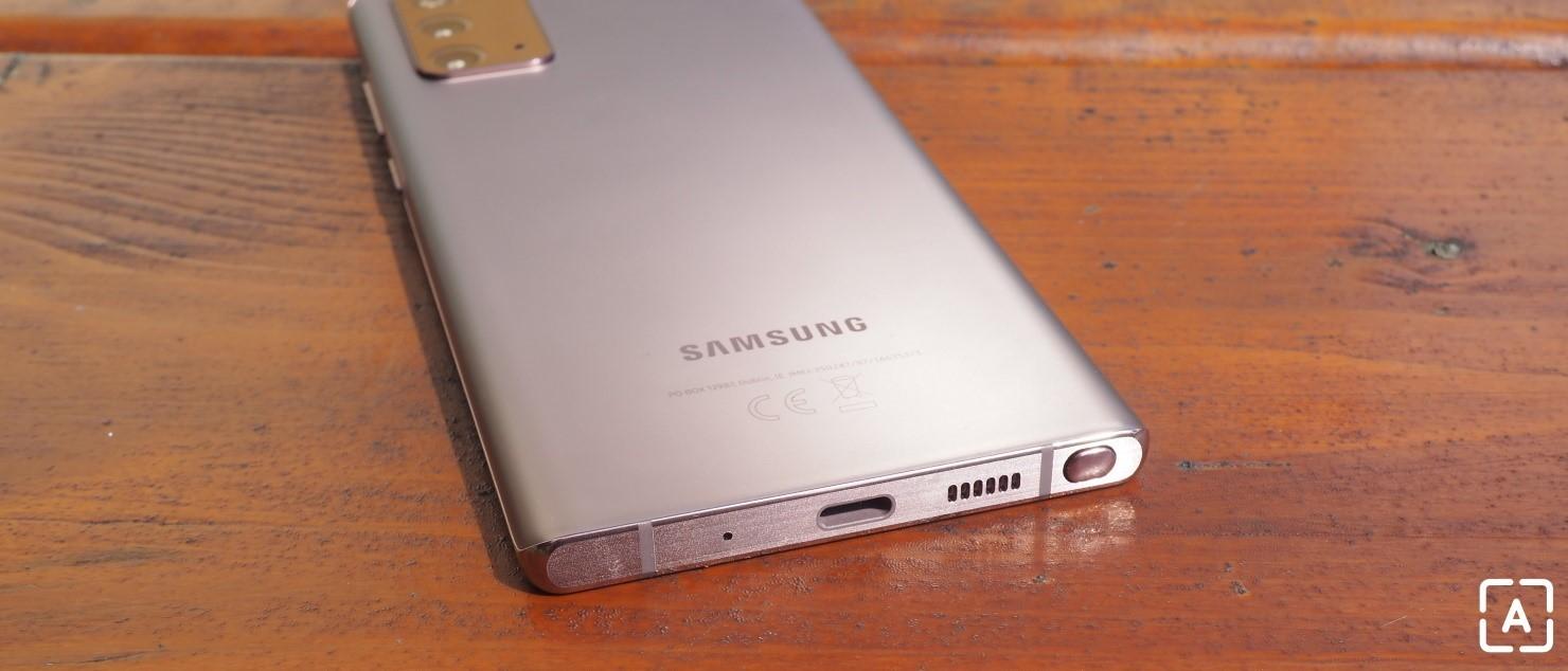 Samsung Galaxy Note 20 reproduktor
