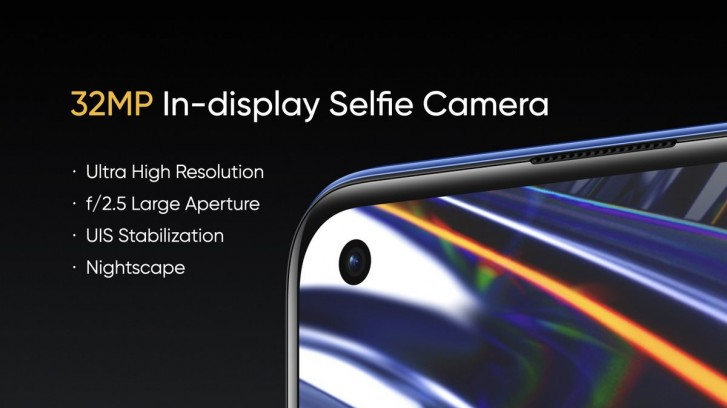 Realme 7 Pro Selfie fotoaparát
